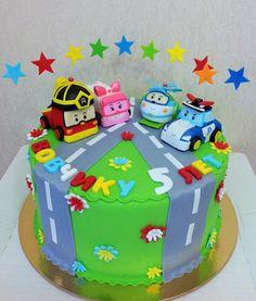 робокарчики мои любимые) от пользователя «alexart1980» на Babyblog.ru 3rd Birthday Parties, 1st Boy Birthday, Robocar Poli, Elegant Birthday Cakes, Cake Cookies, Color Mixing, Cake Decorating, Chiffon, Desserts