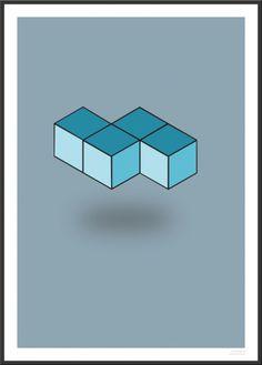 Simple Tetris Poster