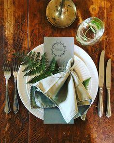 #tablesetting #homerestaurant #greenismycolor  #dinner #korilaseköök