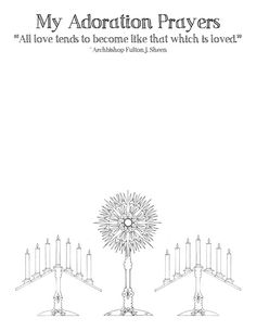 Adoration Procession of the Eucharist coloring page  Catholic