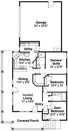 Square house plans 40x40 the makayla plan has 3 bedrooms for How to add square feet