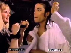 Exclusive! Michael Jackson 100% New Rare Funny Outtakes [Enhanced Fullscreen Backstage] - YouTube