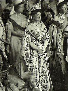 Nicholas II Throne Speech Photograph 1906----Tsarina Alexandra