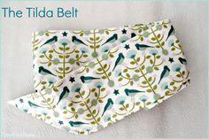 The Tilda Belt - tutorial for DIY fabric belt Sewing Tutorials, Sewing Patterns, Sewing Ideas, Diy Belt For Dresses, Diy Belts, Diy Accessories, Belts For Women, Fabric Scraps, How To Look Better
