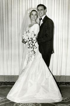 Vintage Wedding Photo Lovely Young Bride Groom | eBay