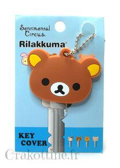 Couvre clé kawaii - Rilakkuma