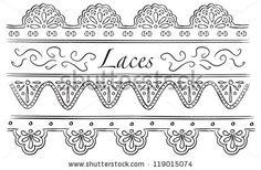 lace doodle - Google Search