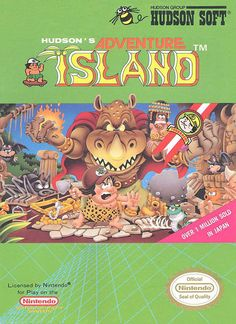 Adventure Island 1 - one of the best NES games