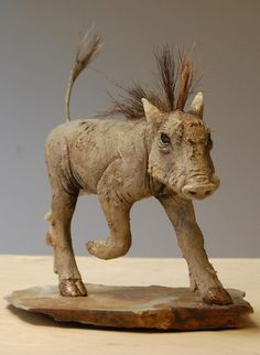 Nick Mackman Animal Sculpture    Rush rush rush! Christmas is only 3 weeks away, Eek!  http://clayanimalsculptures.co.uk/project/warthog-sculptures  https://fbcdn-sphotos-b-a.akamaihd.net/hphotos-ak-snc7/380779_446595445402001_33789959_n.jpg