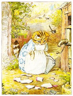 #Beatrix #Potter | The pie and the patty-pan
