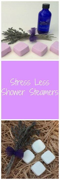 Shower Steamers Stress Less - Handmade Aromatherapy Shower Melts Therapeutic & Relaxing Shower Tablets!!!For those times you need to just relax and take a load off. Stress Less Shower Steamers, Handmade Shower Melts, Long Lasting Shower Bombs, Aromathera