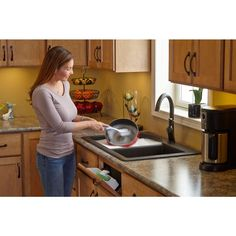 Rev-A-Shelf 14 in. Polymer Tip-Out Sink Front Trays