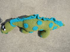 Craftdrawer Crafts: Crochet Dinosaur Patterns - Learn About Crocheting Stuffed Toys