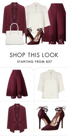 """""""Hey Lady"""" by xsafnrx ❤ liked on Polyvore featuring River Island, Manon Baptiste, Massimo Matteo and Prada"""