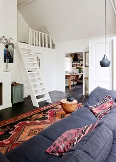 Character Filled Dutch Apartment