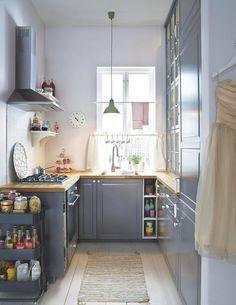 [Decotips] ¿Una cocina larga y estrecha? no es problema – Virlova Style