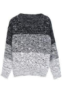 Colorblock Cable Knit Jumper