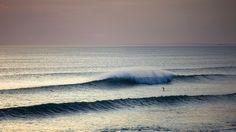 sunset. waves. paddleboard.