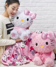 Plush 1pc 160cm sakura My Melody hello kitty dollcoral fleece rest office cushion + blanket stuffed toy romantic gift for baby