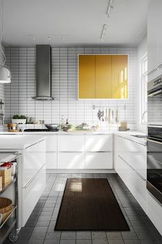 JÄRSTA Door, orange high gloss orange | Kitchen cabinets, Ikea and ...