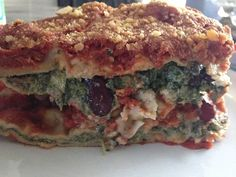 A great dish to bring to a pot-luck to impress your non-vegan friends, this is the best lasagna we've ever had hands down.