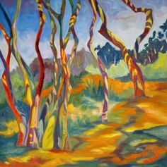 SALE Myakka Preserve Woodland Trees of by EvelynMcCPetersArt, $46.00