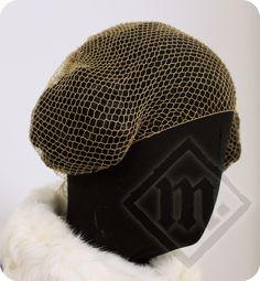 Medieval Silk Hairnet by LadyMalinaCom on Etsy https://www.etsy.com/se-en/listing/264803485/medieval-silk-hairnet