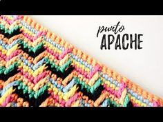 PUNTO MARROQUÍ A CROCHET | (ENGLISH SUB!) tutorial paso a paso - YouTube