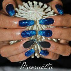.@nailsbyeffi | #nailart #nailswag #nailclub #nailglitter #nails #nagelkonst #naglar #nailart... | Webstagram