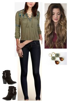 """""""MyStyle"""" by mimimoon95 on Polyvore featuring Lucky Brand, Hollister Co. and Charlotte Russe"""
