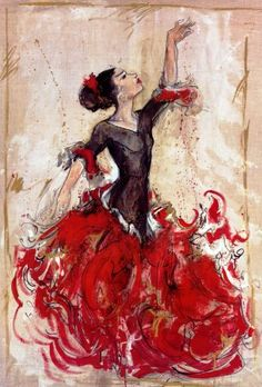 Flamenco. Could definitely mesh this with ballet.