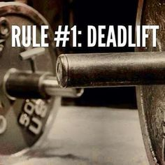 Rule 1: #deadlift !    http://olympian-body.com/rule-1-deadlift/