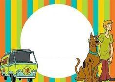Invitaciones de Scooby Doo para imprimir gratis