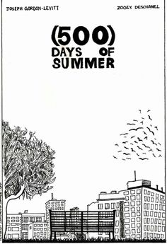 Architecture Drawing 500 Days Of Summer 500 days of summer | beautiful films | pinterest | summer, movie