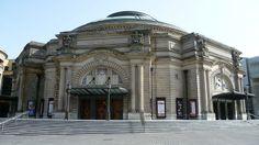 Usher Hall, Edinburgh - venue of the 1972 Eurovision Song Contest. Edinburgh City, Edinburgh Castle, Edinburgh Scotland, West End, Concert Hall, Auditorium, Big Ben, Restoration, Mansions