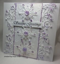 Crafty Urchins: quick and easy christmas cards memory box frosty border Simple Christmas Cards, Christmas Card Crafts, Xmas Cards, Handmade Christmas, Holiday Cards, Elegant Homemade Christmas Cards, Christmas Tables, Coastal Christmas, Christmas Vacation