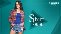 #CheckIn the style era with the awesome shirt by #TogoFogoLooks. Grab it at just Rs.859 only