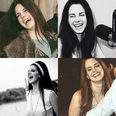 Lana Del Rey + laughing #LDR