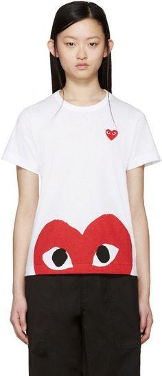 Pin for Later: 50 kreative Geschenkideen zum Valentinstag für jedes Budget  Comme des Garcons WT-shirt (150 €)