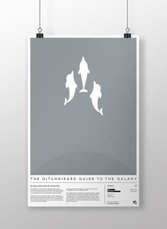 Hitchhiker's Guide to the Galaxy Movie Poster by EloquentOtter