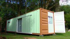 DELTA CONTAINERS [Casas Modulares em Containers] - ENGEFROM ENGENHARIA, com opções inovadoras, práticas, sem desperdícios e buscando a sustentabilidade. Site: www.engefrom.eng.br