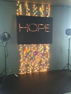 replicate the constellations on black posterboard and hang in front of a mass of fairy lights? Youth Room Church, Youth Ministry Room, Youth Group Rooms, Kids Church Rooms, Church Nursery, Children Ministry, Kids Church Decor, Youth Decor, Church Ideas