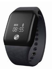 Ace MK88 Heart Rate Monitor With Oxygen Sport Wristband Men Women Smart Tracker Monitor Watch (BLACK) ** Be sure to check out this awesome product.