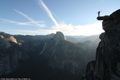 Top of the world: Esty Ilabacahas explored, climbed and parkoured his way across the glob...