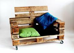 Lignum Wohndesign Recyclingmöbel EUR-Palettencouch: Amazon.de: Küche Haushalt