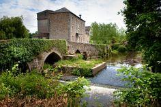 Pont sur le Couesnon à La Fontenelle (stenphoto.fr).