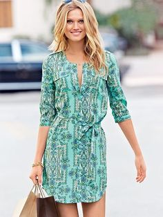 Shirt Dress fashion cute summer shirt style hip trend shirt dress