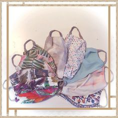 Few more! #mask #masks  #coronaquarantine  #oldsheet  #recycledmaterial  #recycled  #recycledfabrics #recycle  #reciclaje #reciclajecreativo #reciclajeconestilo #hechoamano #handmade #sewing #coser #style  #midiseño #mydesign #sustainable #sustainableliving #sustanible #sustaniblefashion #vhga #upcycle #reuse #oneofakind #piezasunicas #unique Recycled Fabric, Sustainable Living, Drawstring Backpack, Recycling, Fabrics, Backpacks, Bags, Dresses, Fashion