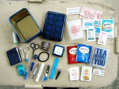 A Doctor Who emergency kit. My purse is missing this.