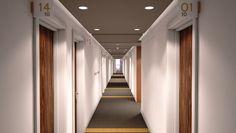 student accommodation corridor - Google Search Brick Roof, Roof Extension, Corridor, Student, Google Search, Home Decor, Decoration Home, Room Decor, Home Interior Design